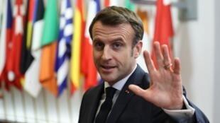 Pour Emmanuel Macron, l'essentiel est sauf: la PAC ne sera pas davantage rognée.