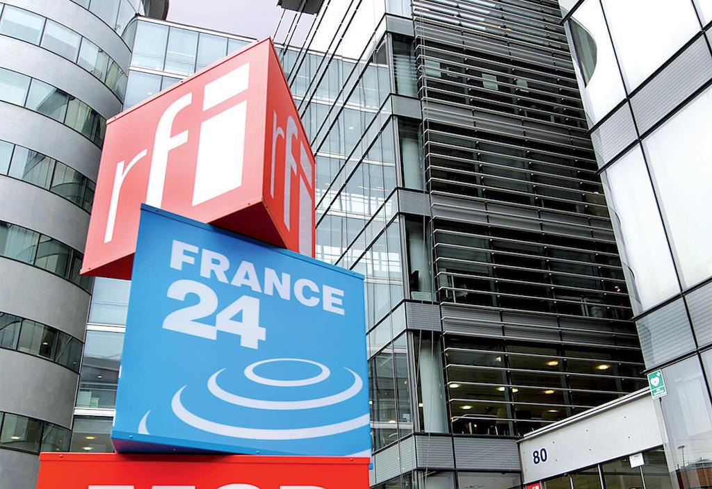 France 24 - французский государственный телеканал, вещающий на французском, английском, арабском и испанском языках.