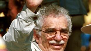 Gabriel Garcia Marquez, 1999, em San Vicente del Caguan, Colômbia