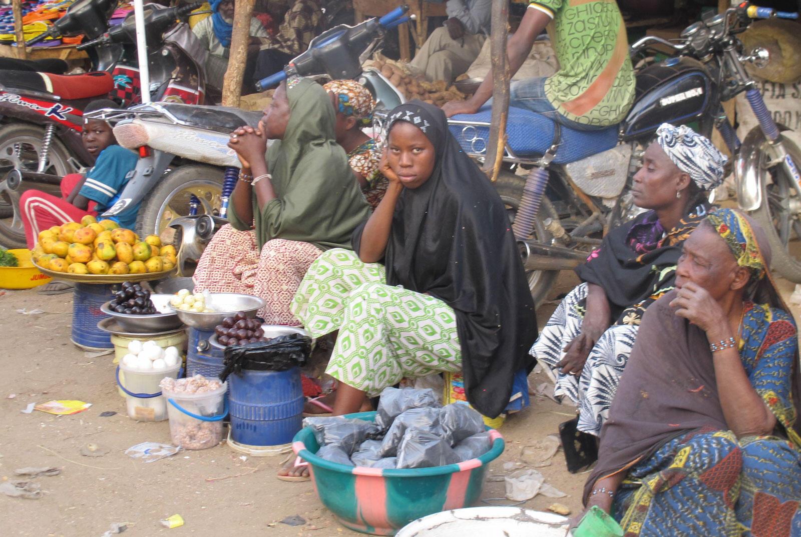 Sur le marché de Gao, on attend que les affaires reprennent.