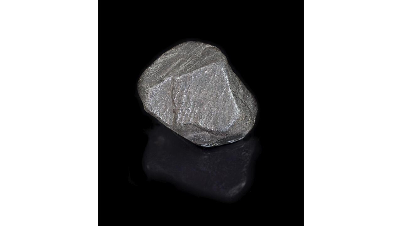 """Черный алмаз """"Трюфель"""" (330 карат). Бразилия, ок. 1849."""