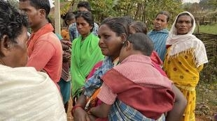 Women from the central Indian state of Chhattisgarh. Many women here undergo unwanted pregnancies and deliver babies at home.