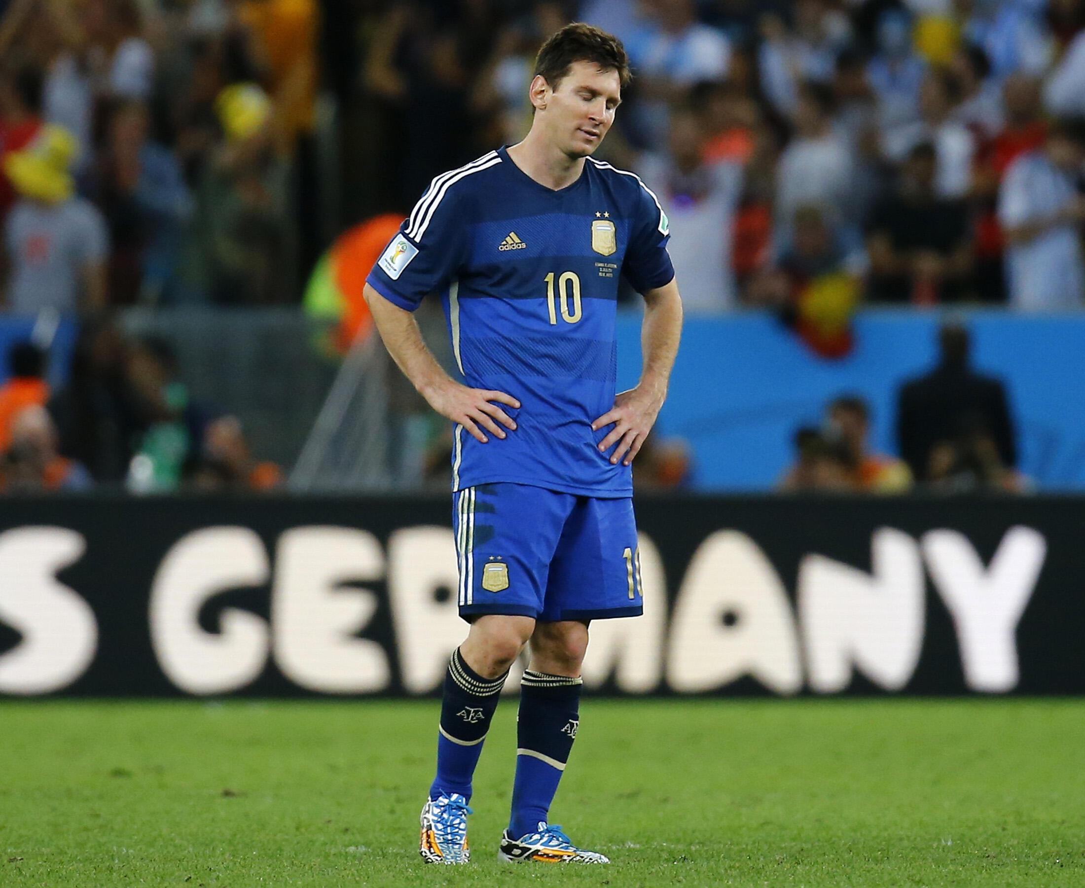 Juiz mantém acusações contra o jogador argentino Messi