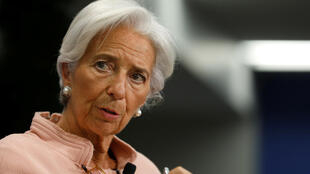 La présidente du FMI Christine Lagarde.
