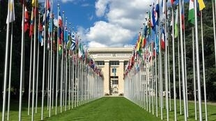 Le palais des Nations à Genève abrite l'Office des Nations unies.