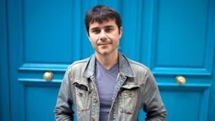 L'écrivain Laurent Binet. Paris, 2012. Fred Dufour AFP.