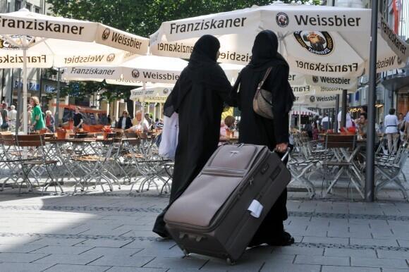 Du khách Hồi giáo tại Đức