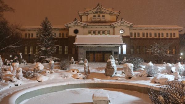 Le musée régional de Sakhaline, héritage de la domination japonaise.