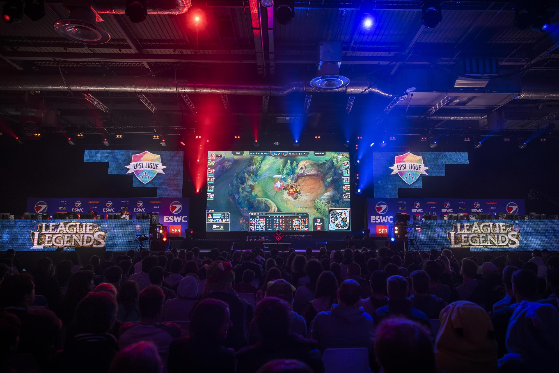 Un match de League of Legends à la Paris game week, à Paris, le 27 octobre 2016.