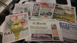 Diários franceses 13.01.2017