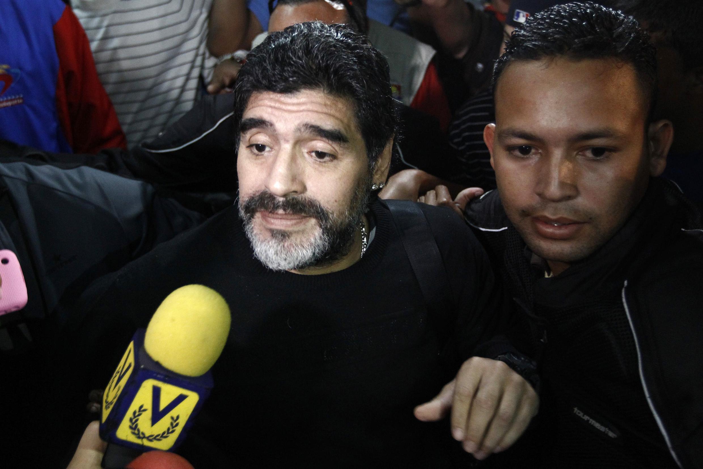 Diego Maradona na Argentina
