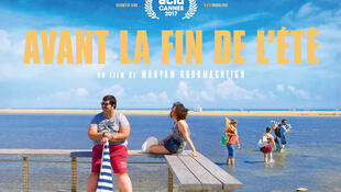 Affiche de « Avant la fin de l'été », le premier long métrage réalisé par Maryam Goormaghtigh.