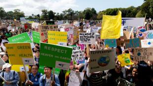 Manifestation pour le climat à Sydney, le 20 septembre 2019.