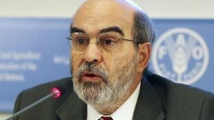 O diretor geral da FAO, José Graziano