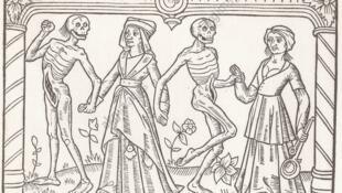 رقص مردگان و زندگان یکی از درونمایههای تکراری اواخر سده های میانه و رنسانس است