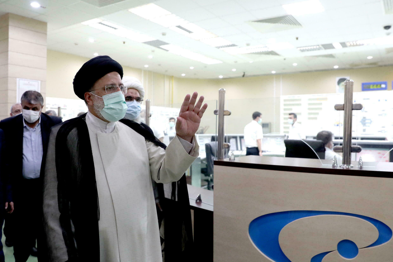 NE PAS REUTILISER iran ebrahim Raissi centrale nucléaire   Bushehr