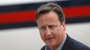 O primeiro-ministro do Reino Unido, David Cameron, chega em Belfast para  participar de mais uma reunião do G8 mais a Rússia, realizada na Irlanda do Norte.