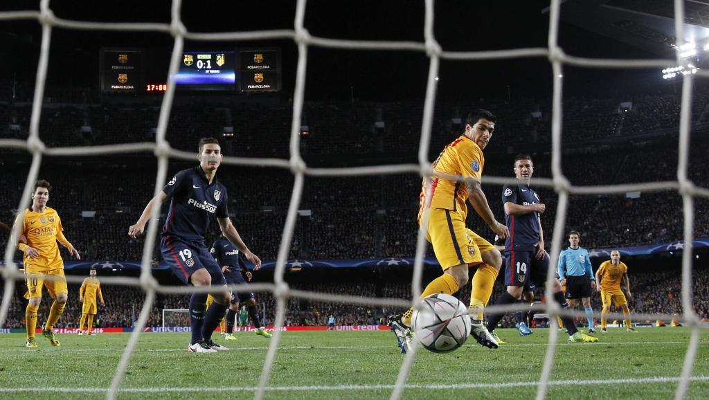 Luis Suarez  amewanyamanzisha Atletico Madrid kwa mara ya pili.