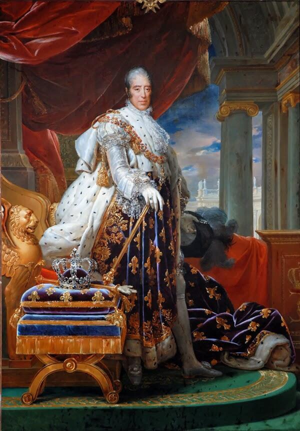 François Gérard, Charles X in his Coronation Robes 1829