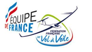 logo de l'équipe de France de planeurs.