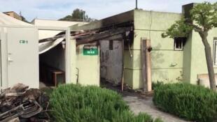 На окраине корсиканского Аяччо подожгли молельный зал