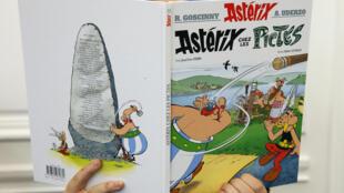 Astérix chez les Pictes, le nouvel album écrit par Jean-Yves Ferri, et illustré par Didier Conrad.