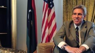 美國駐利比亞大使斯蒂文森2012年6月28日在的黎波里