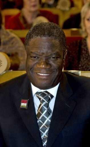 Le docteur Denis Mukwege.
