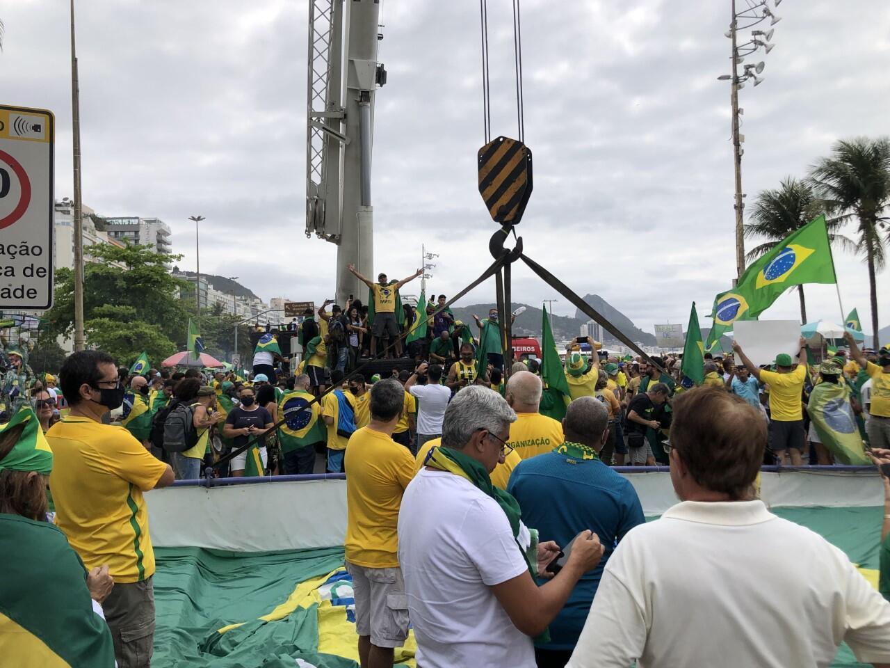 Brasil Manifestações 07-09-2021