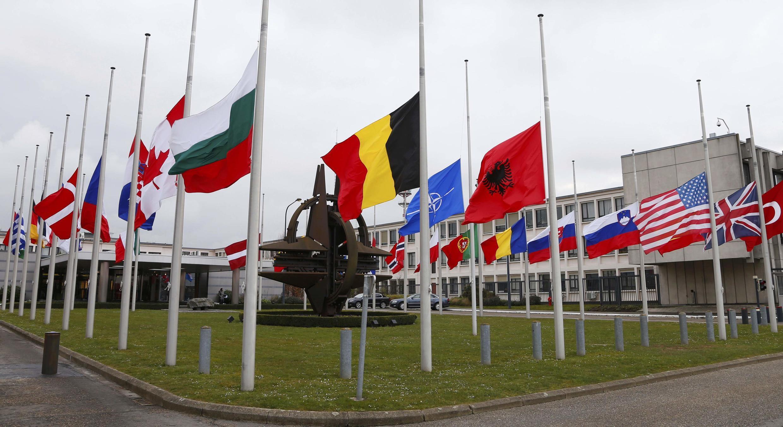 Trụ sở của Liên Minh Bắc Đại Tây Dương NATO, tại Bỉ.