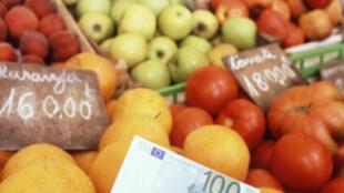 Trên thế giới, giá thực phẩm leo thang