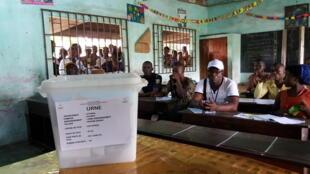Au Bénin, des élections communales sont annoncées pour le 17 mai 2020 (illustration: élection présidentielle du 6 mars 2016).
