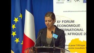 « L'Afrique et ses partenaires émergents », le 11ème Forum international sur l'Afrique, le mardi 20 septembre 2011, à  Paris, France. (Capture d'écran)
