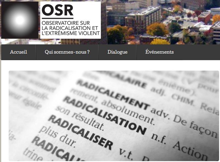 Au Québec, l'Observatoire sur la radicalisation et l'extrémisme violent a formé des professeurs de lycée en philiosophie pour parler de radicalisation au sens large.
