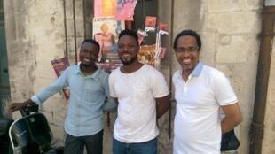Sédjro Giovanni Houansou, Mawusi Agbedjidji, Souleymane Bah.