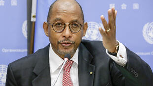 Dr. Ibrahim Assane Mayaki, CEO of NEPAD, The New Partnership for Africa's Development.