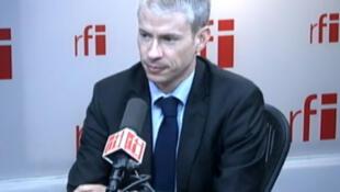 Franck Riester , député UMP de Seine-et-Marne, membre du mouvement de la France Moderne et Humaniste.