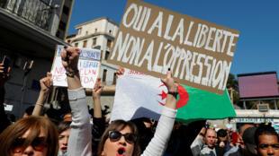 L'Algérie connait depuis plusieurs jours des manifestations contre le pouvoir en place.