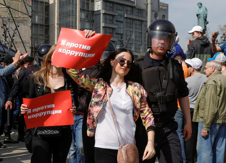 Акция «Он нам не царь», Москва, 5 мая 2018.