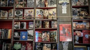 Une librairie à Paris pendant le reconfinement, le 2 novembre 2020.