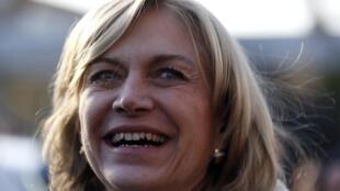 Evelyn Matthei, la candidate de la droite à l'élection présidentielle chilienne de novembre 2013.
