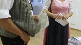 Les Bavarois sont appelés à voter ce dimanche pour élir leur représentant au Parlement régional.
