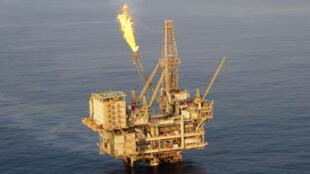 Une plateforme offshore d'exploitation de pétrole. (photo d'illustration)