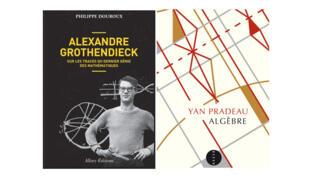 «Alexandre Grothendieck», de Philippe Douroux (Ed. Allary) et «Algèbre», de Yan Pradeau (Ed. Allia).