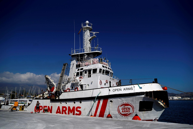 O navio da ONG Proactiva, Open Arms.