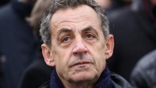 L'ancien président français Nicolas Sarkozy.