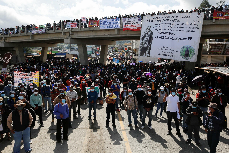 Guatemala Protests July 2021