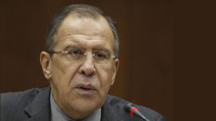 O chefe da Diplomacia russa, Sergei Lavrov
