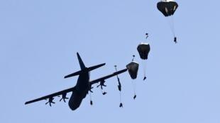 Учения ВВС НАТО в Германии, 26 августа 2015.