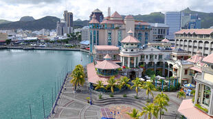 Vue sur la capitale, Port-Louis, à l'Île Maurice. (Image d'illustration)